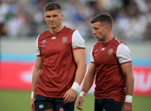 Rugby World Cup: George Ford DROPPED as Owen Farrell starts at fly-half in Australia quarter-final