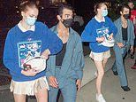 Sophie Turner and Joe Jonas step out for a date night in New York City