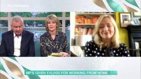 This Morning Viewers Keep Phoning MP Tracy Brabin During Interview After Her Mobile Number Is Displayed On Screen