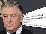 Alec Baldwin says parents in college admissions scandal should NOT serve jail time