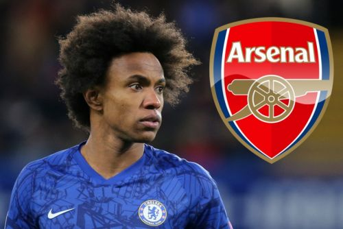 Mixed reaction from some Chelsea fans to Willian's move to rivals Arsenal