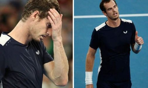 Where's Kim? Andy Murray's wife Kim Sears is NO SHOW as he loses Australian Open match