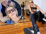 P.E Nation founder Pip Edwards, 40, flaunts her fit physique