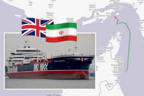 British tanker seized by Iran's Revolutionary Guard in the Strait of Hormuz