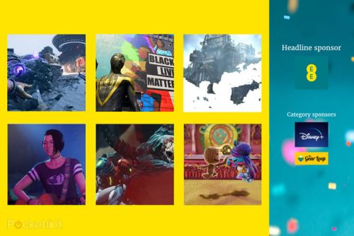 Here are the EE Pocket-lint Awards nominees for Best Game 2021 and how to vote