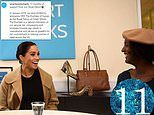 Smart Works shares an unseen picture of a beaming Meghan Markle visiting the charity