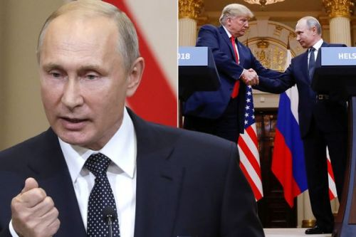 Vladimir Putin's subtle gestures signal VICTORY over Trump as he 'plays US President at his own game' in Helsinki