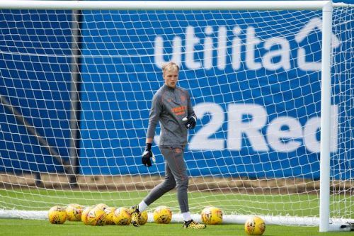 Robby McCrorie inspired by Allan McGregor's route to Rangers No 1