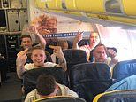 Ryanair passenger was branded a 'lesbo', 'd**e' and b***h' by rowdy men