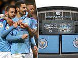 Manchester City become first club to confirm they will NOT put non-playing staff 'in furlough'