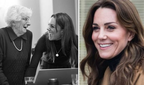Kate's poignant photoshoot with Holocaust survivors - candid pictures revealed