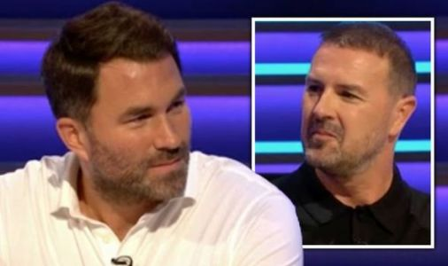 Question of Sport fans baffled as Eddie Hearn joins show 'What's he doing there?'