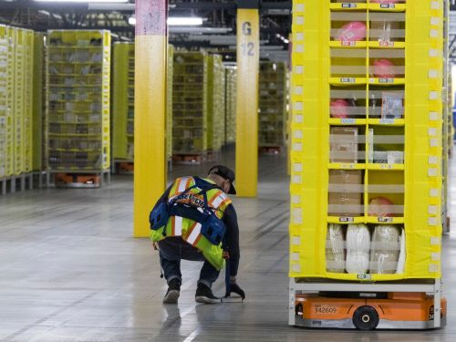 Warehouses are struggling to attract workers, and they're borrowing a tactic from luxury real estate to entice a new wave of employees
