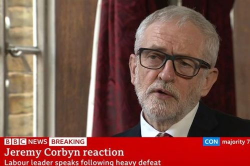 'Jeremy Corbyn looks like a defeated fighter staring into the pit of his future'