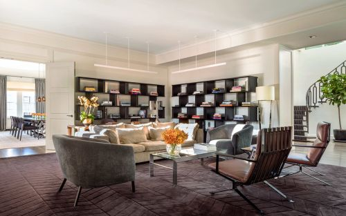 Inside America's most expensive suite at The Mark, the New York hotel where the Duchess of Sussex had her baby shower