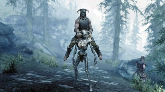 This hilarious Skyrim mod lets you swap your horse for a draugr