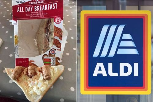Dad left open-mouthed at Aldi's £1.99 breakfast sandwich - and photo says it all