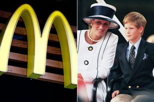 Why Prince Harry and Diana always went to McDonald's - and it wasn't because of the food