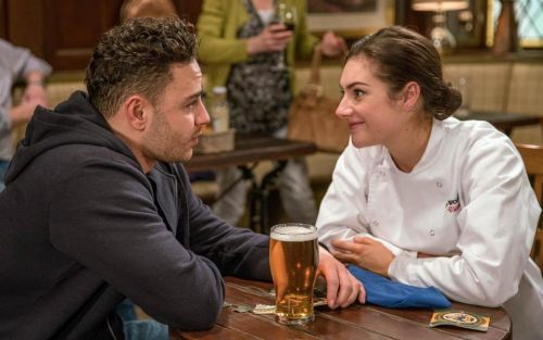 Who is Victoria Barton in Emmerdale and why is she hunting for her estranged husband Adam?