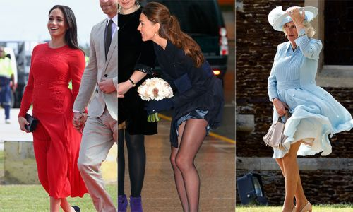 Relatable royals! When the Queen, Kate Middleton and more slip up
