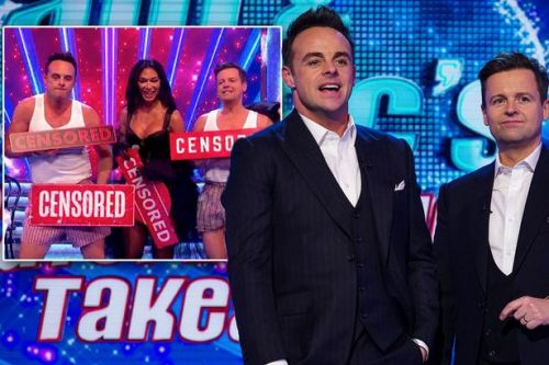 Dec suffers awkward Saturday Night Takeaway blunder moments before end of show
