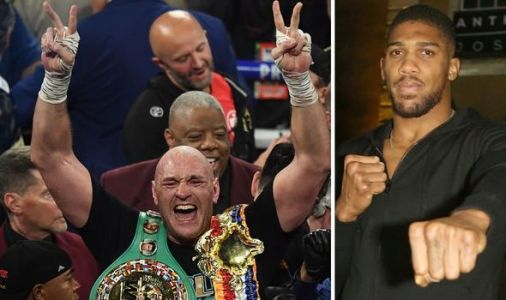 Anthony Joshua fires strong warning to Tyson Fury with 'hit list' revelation