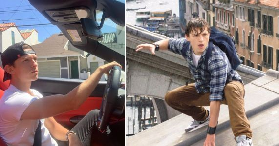 Avengers' Tom Holland not bothered about Sony and Marvel Spider-Man drama as he poses in new car