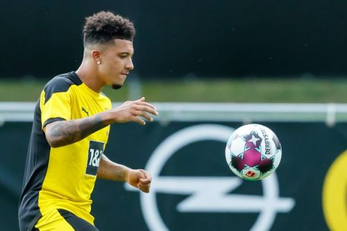 Latest pictures as Jadon Sancho trains amid Borussia Dortmund, Manchester United £108m transfer standoff