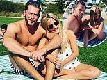 Caroline Flack, 39, hints she's in love with new beau Lewis Burton, 27, as they enjoy Bank Holiday