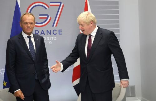 Boris Johnson says Brexit deal chances are 'touch and go'