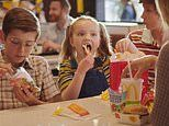 McDonald's is forced to pull a TV ad featuring a little girl who is 'rewarded' for her bad behaviour