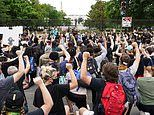 Peaceful protests continue for George Floyd across the U.S