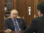 MICHAEL BURLEIGH: Wounded Vladimir Putin turns up heat as aggression threatens to reignite conflict