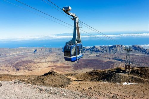 Tenerife cable car rescue: More than 150 tourists evacuated from popular Mount Teide service