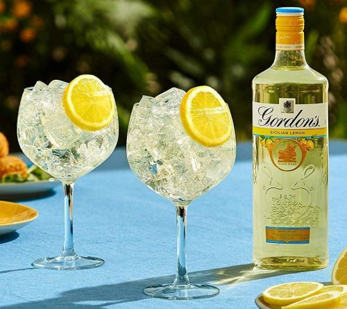Gordon's Gin launches new Sicilian Lemon flavour and spring is truly on its way