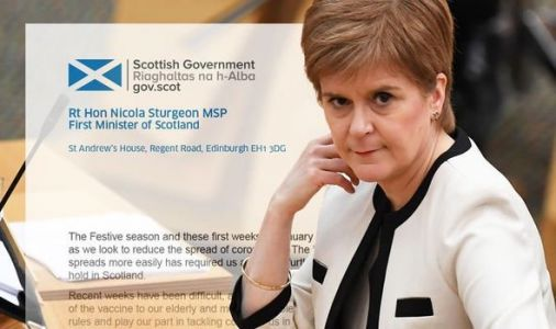 Really, Nicola? SNP blunder as £700k spent on 'political propaganda' thank-you letters