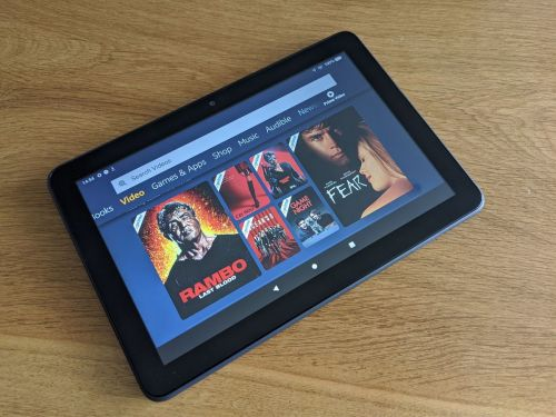 The Amazon Fire HD 8 Plus tablet offers unbeatable value for the money by doubling as an Echo Show smart display
