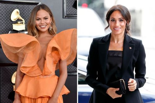 Chrissy Teigen says 'kind' Meghan Markle reached out to her after son's death