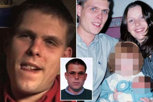 Smiling killer made twisted joke about where he buried his wife's remains