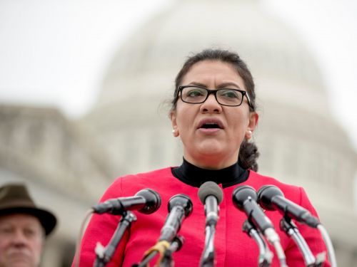 The US House Ethics Committee rules that 'Squad' member Rep. Rashida Tlaib must reimburse her political committee $10,800 for improper use of campaign funds