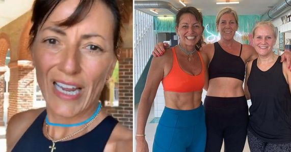 Davina McCall keeps it real as she suffers hilarious fail after early morning workout