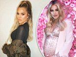 Khloé Kardashian reveals she's lost 33lbs since giving birth