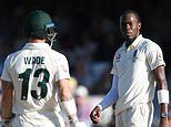 Duel between Jofra Archer and Matthew Wade typified riveting Ashes series which had the right result