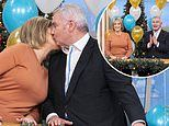 Eamonn Holmes receives a THIRD 60th birthday surprise from wife Ruth Langsford on This Morning