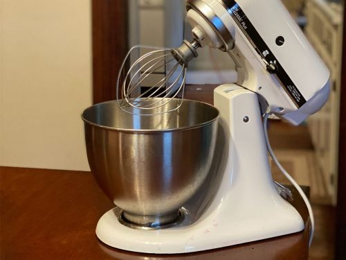 This entry-level stand mixer from KitchenAid belongs in every beginner baker's kitchen