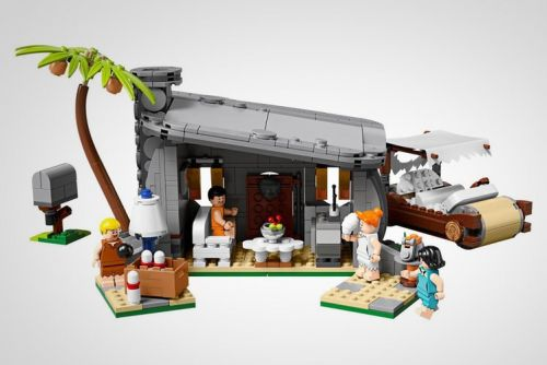 This 748-piece Flinstone Lego set makes us want to yabba dabba build
