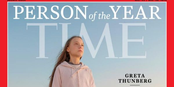 Greta Thunberg has been named Time's Person of the Year for 2019