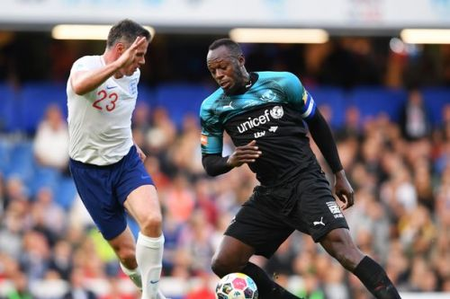 Usain Bolt scores at Soccer Aid 2019 after Jamie Carragher error - leaving fans delighted