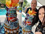 Mum who 'can't cook' shares how she made a 'no bake corona cake' for her husband's 51st birthday