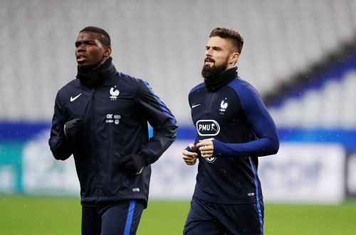 Olivier Giroud reviews Paul Pogba's Man Utd career ahead of crunch FA Cup final clash